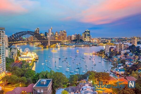 مناطق گردشگری سیدنی
