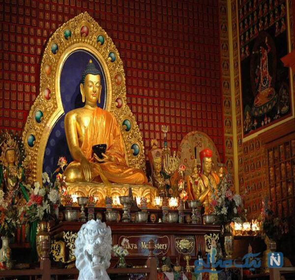 معبد بودایی در اشپانداو