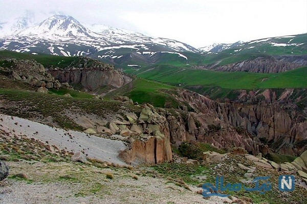 مناطق گردشگری شیروان در خراسان شمالی