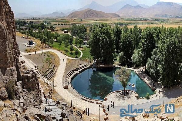 جاهای دیدنی هرسین در کرمانشاه