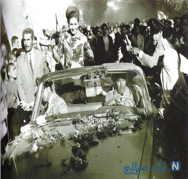 فرح پهلوی در بازدید از قروه