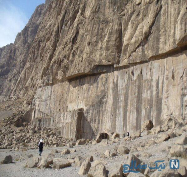 """غار و صخره های تاریخی فرهاد تاش """"وینسار"""""""