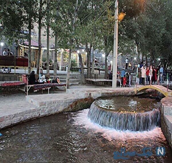 چشمه ازناو خلخال: