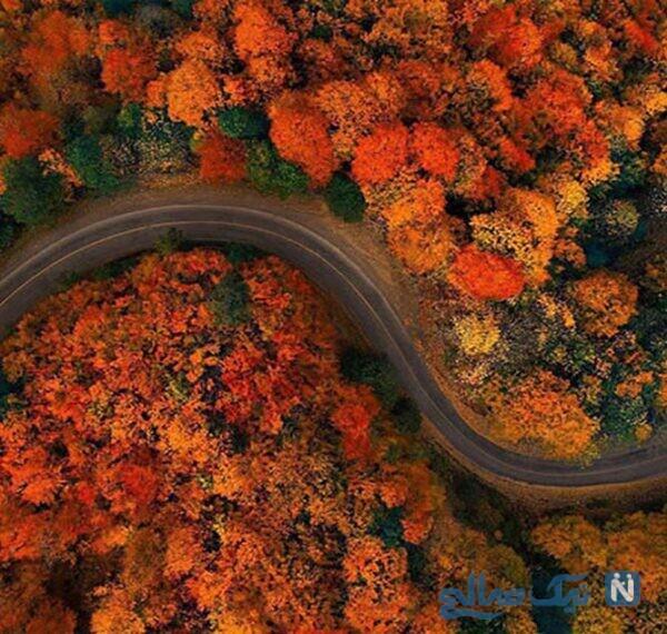 از زیباترین جاده های ایران، جاده اسالم به خلخال