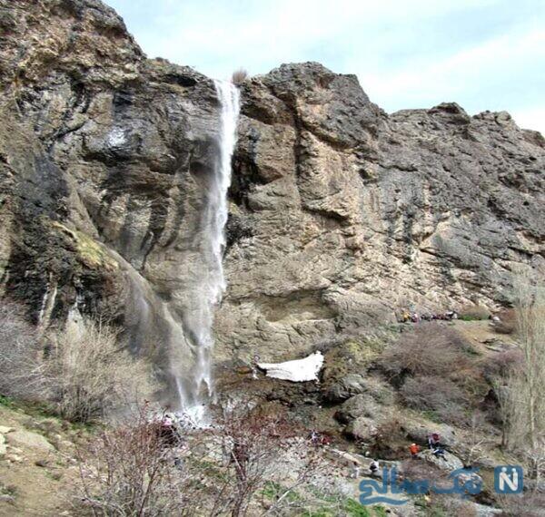 مسیر دسترسی به روستا و آبشار سنگان