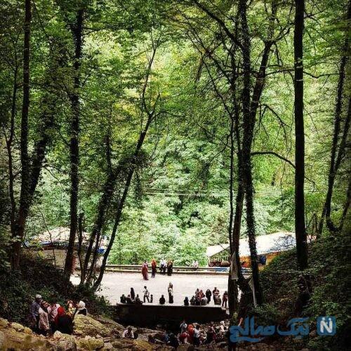 آب پری منطقه ای برای گردشگری