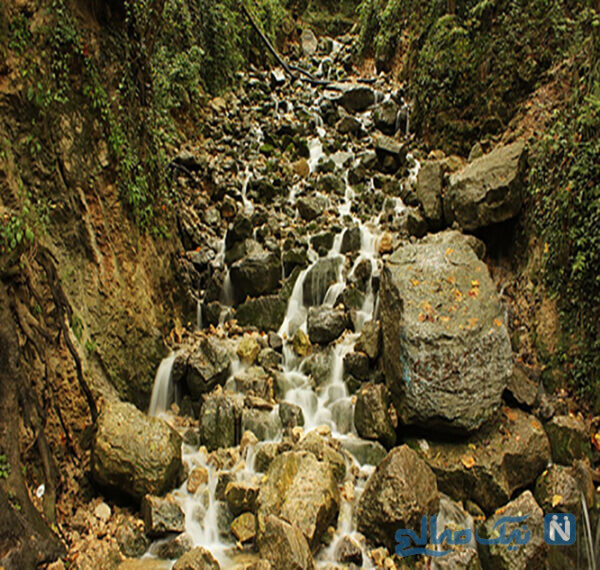 آبشاری که اصلا شبیه آبشار نیست