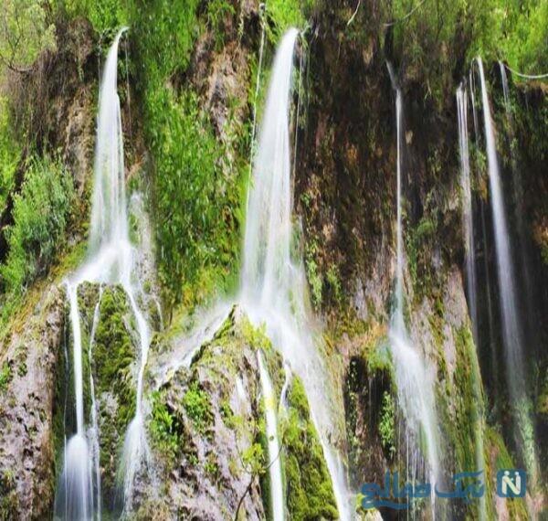 جاهای دیدنی آبشار اخلمد خراسان رضوی کجاست