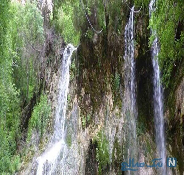 جاهای دیدنی آبشار اخلمد