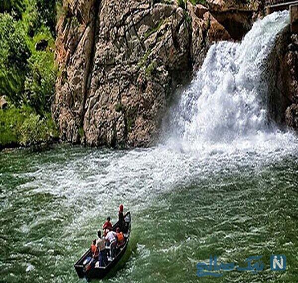آشنایی با جاهای دیدنی آبشار بل آبشار زیبای کردستان