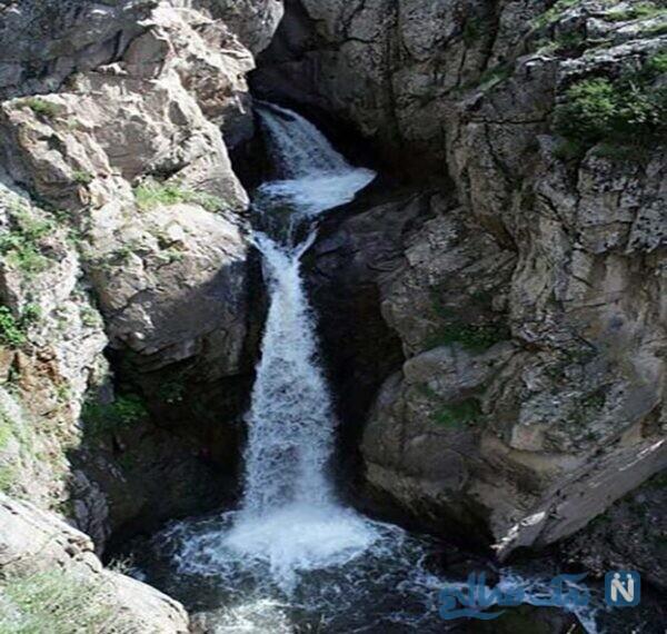 آبشار گورگور از جاذبه های اردبیل،