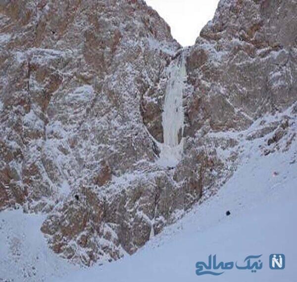 جاهای دیدنی آبشارهای یخی