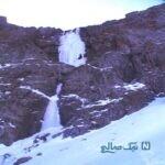 با جاهای دیدنی آبشارهای یخی آشنا شوید