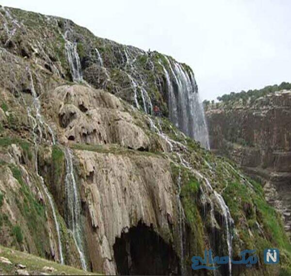 جاهای دیدنی آبشارکمردوغ