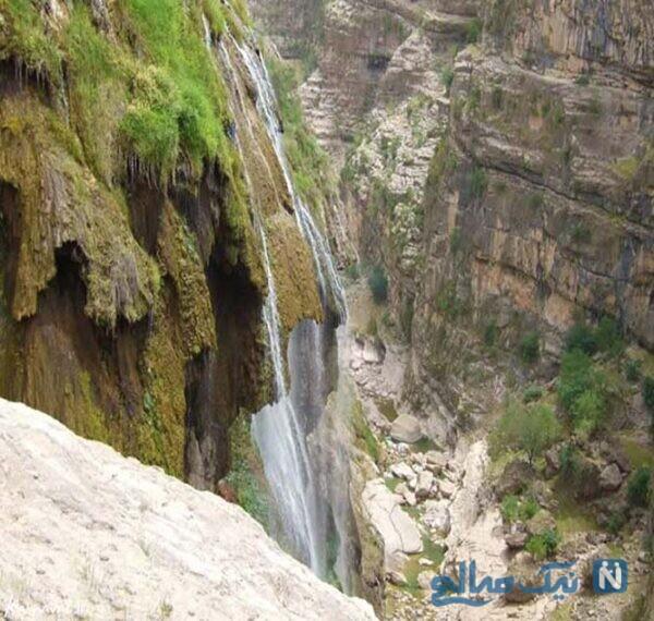 زیبایی های آبشار کمردوغ