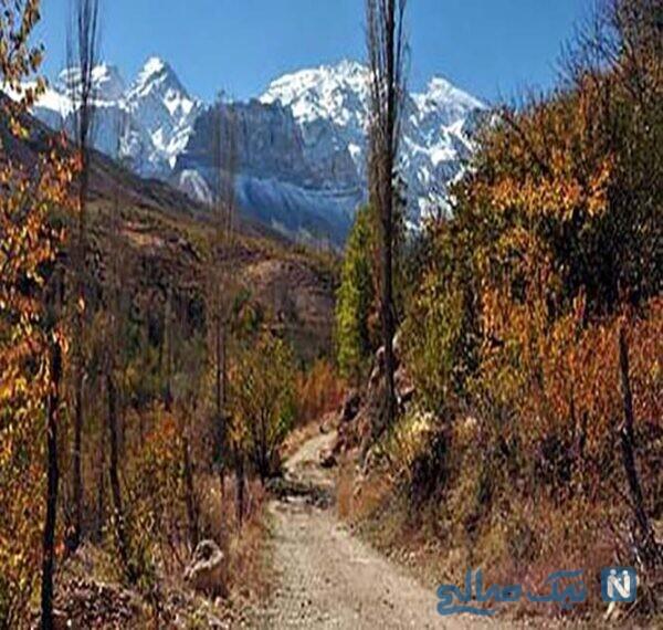 معرفی جاهای دیدنی آبشار خفر سمیرم (جهنم سفید)