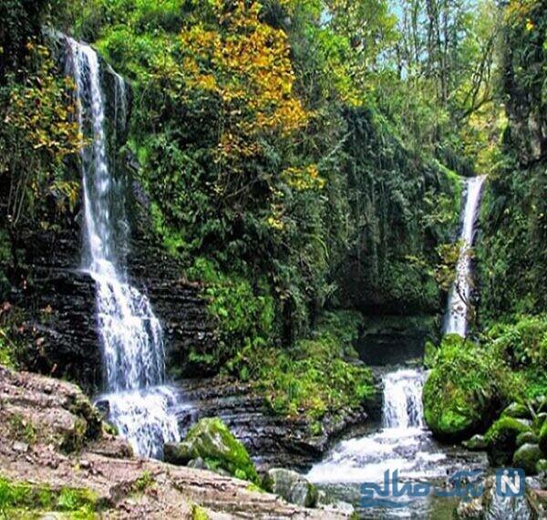 معرفی جاهای دیدنی آبشار شوی خوزستان شهرستان دزفول