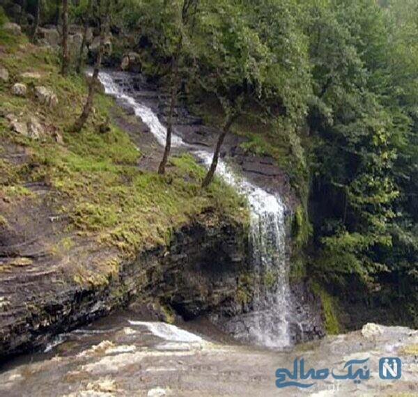 عکس هایی زیبا از آبشار لاتون