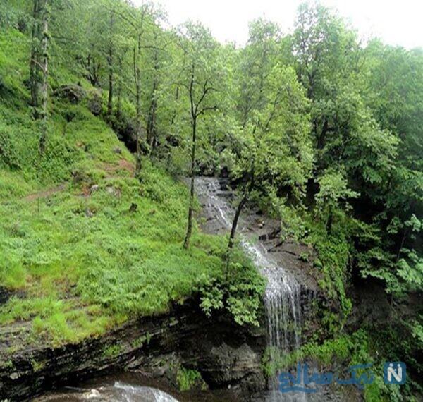 جاهای دیدنی آبشار لاتون