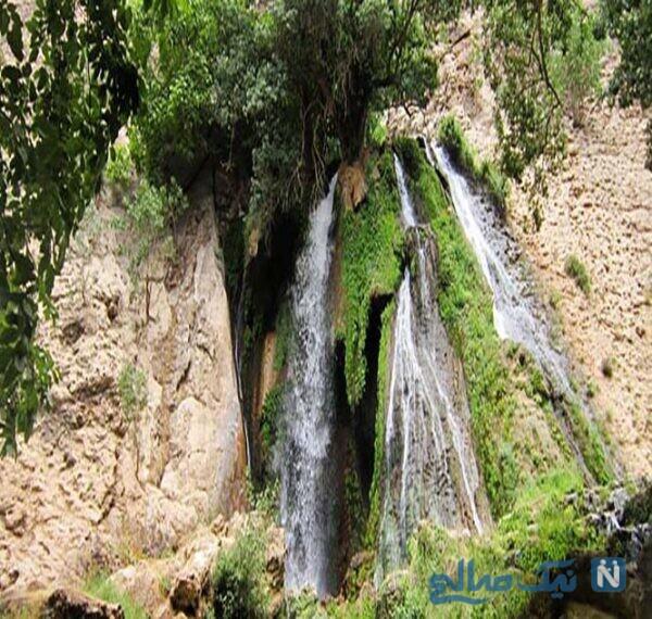 جاهای دیدنی آبشار آتشگاه لردگان