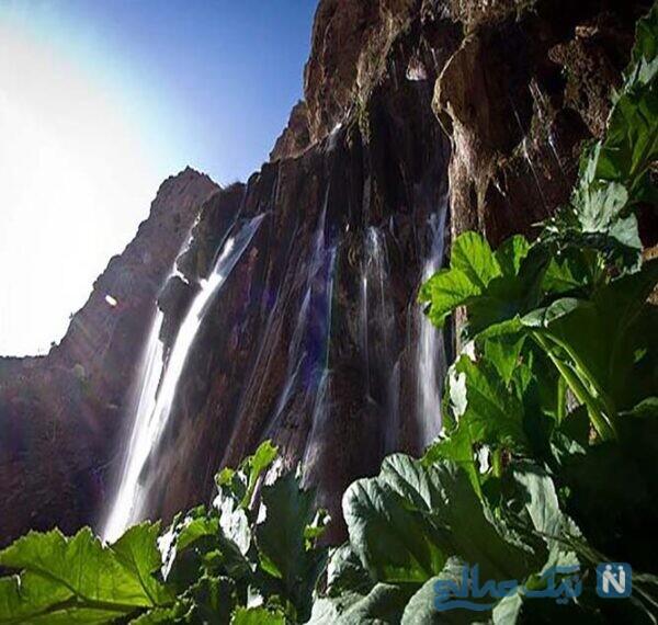 این آبشار سرچشمه رودخانه