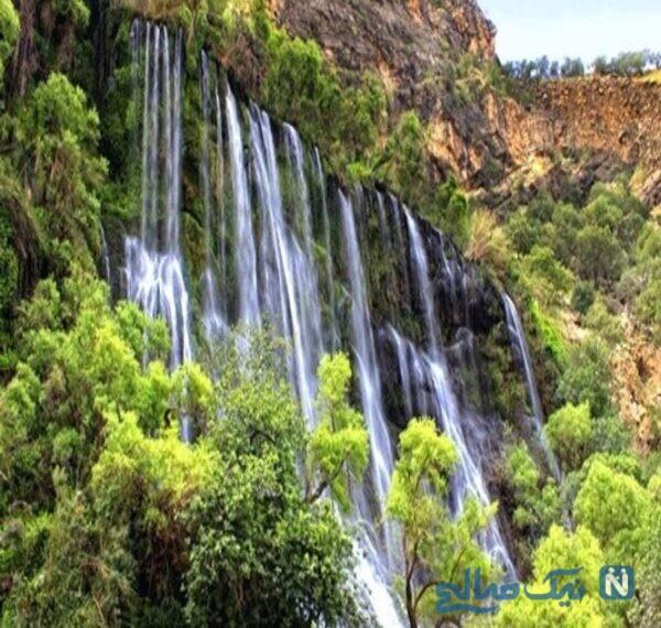 جاهای دیدنی آبشار مارگون