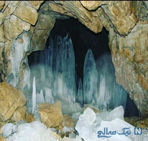 وجه تسمیه غار یخ مراد