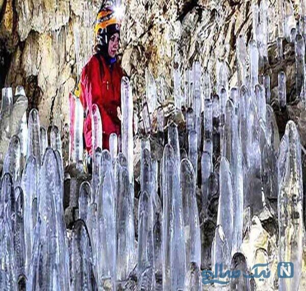 جاهای دیدنی غار یخ مراد
