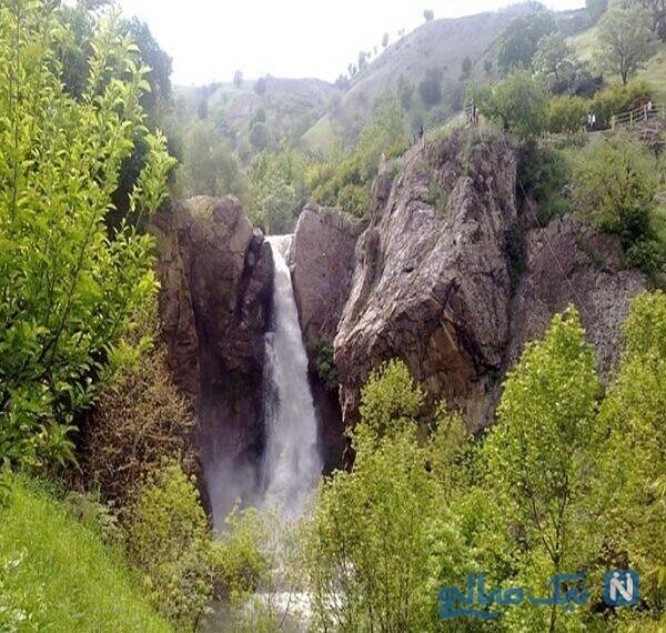 آبشار شلماش در نزدیکی شهرستان سردشت