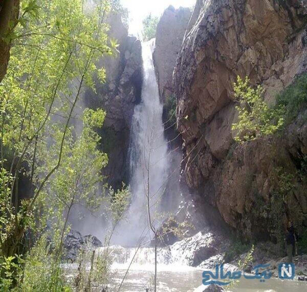 جاهای دیدنی آبشار شلماش