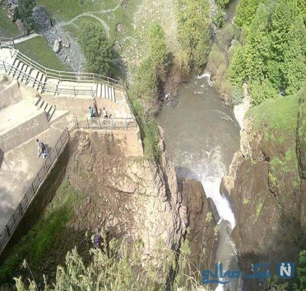 آشنایی با جاهای دیدنی آبشار شلماش