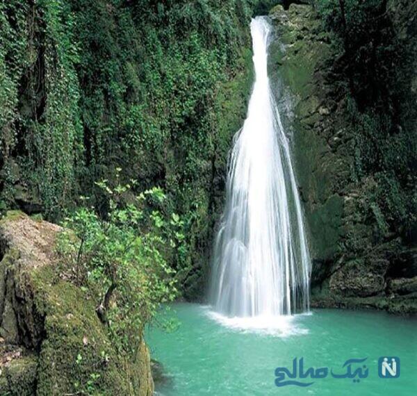 جاهای دیدنی آبشار شیرآباد عروس آبشارهای گلستان