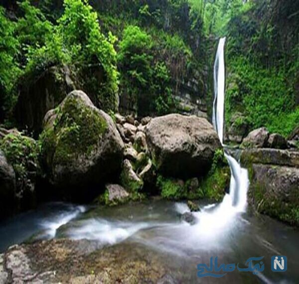 آبشاره شیرآباد در ۵۵ کیلومتری شرق گرگان
