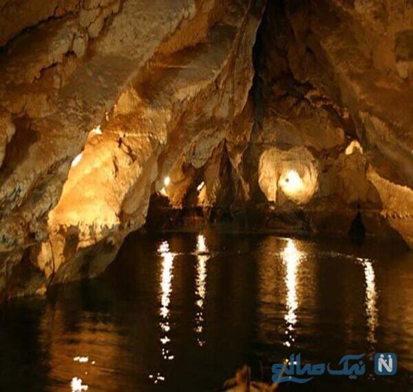 از جاهای دیدنی غار سهولان غاری عجیب دیدن فرمایید