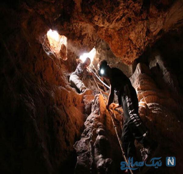 جاذبه های گردشگری غار وشنوه