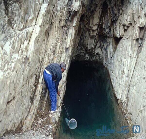 جاهای دیدنی غار ماهی کور