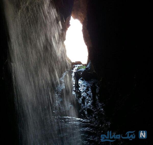 آبشار وقت ساعت دورود