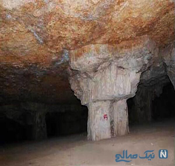غار سنگ تراشان فارس