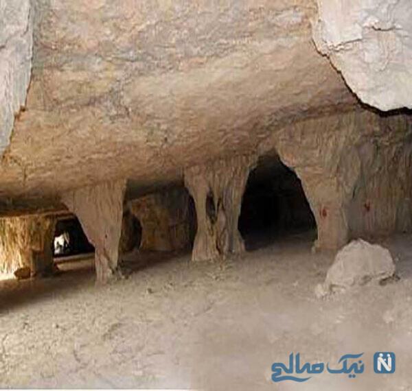 غار سنگتراشان از جاذبههای دیدنی جهرم