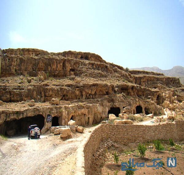 یکی از بزرگترین غارهای دستکن جهان