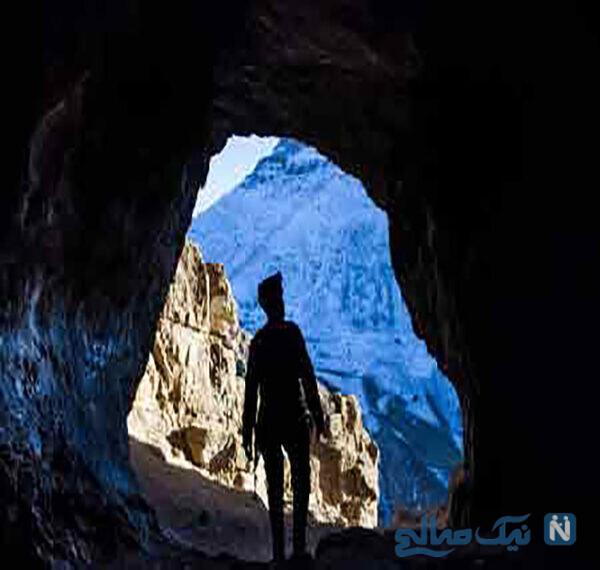 جاهای دیدنی غار کبوتر