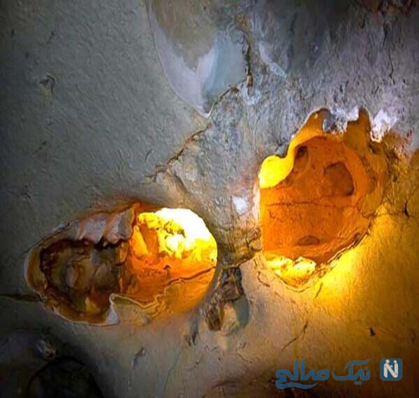 غار امجک در ارتفاعات کوه امجک