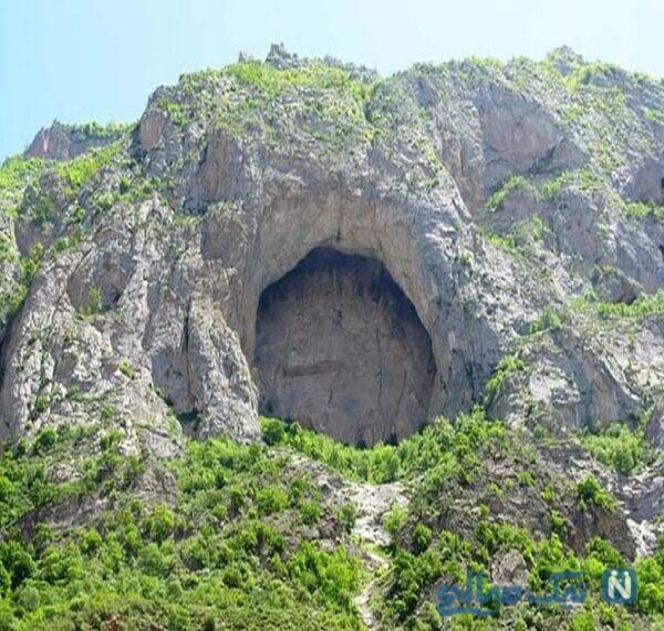 معرفی جاهای دیدنی غار اسپهبد خورشید سواد کوه