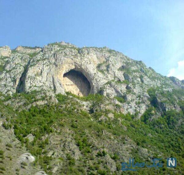 غار اسپهبد کجاست؟