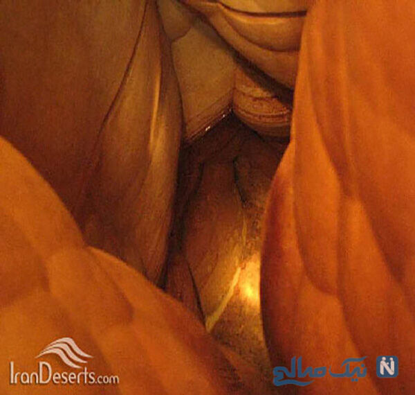 غار میرزا در 30 کیلومتری شمال شرقی رفسنجان
