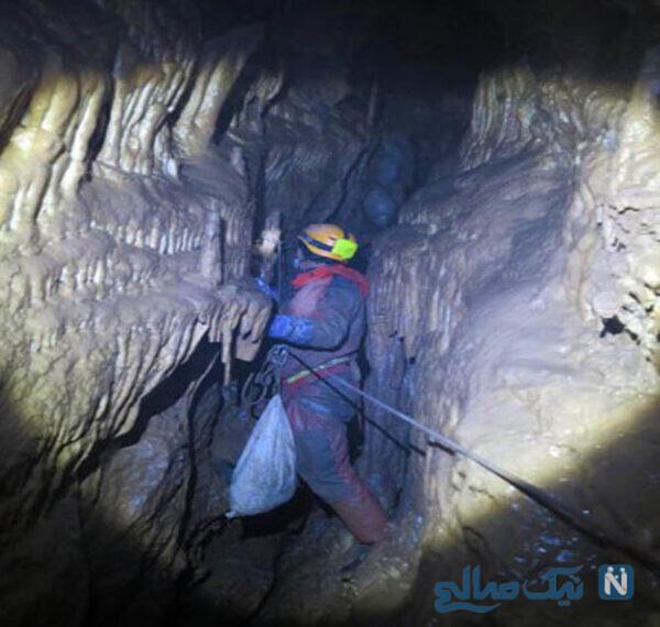 غار پراو کرمانشاه ، راه رفتن روی مرز خطر