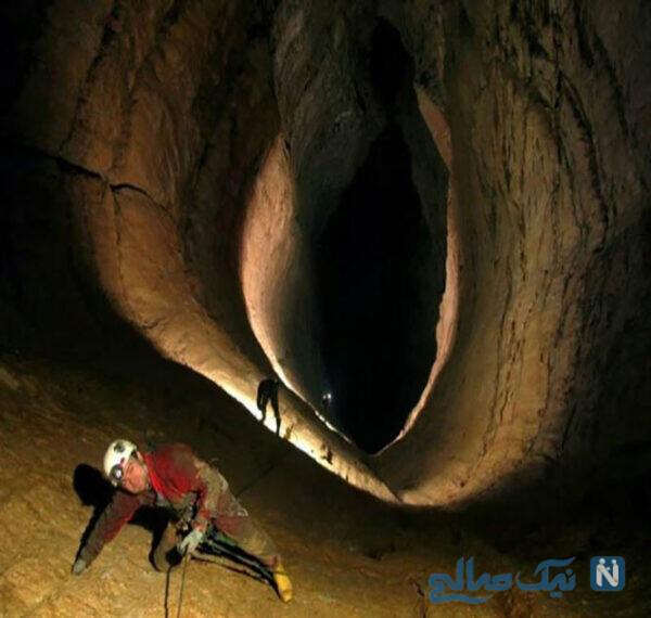 غار ترسناک