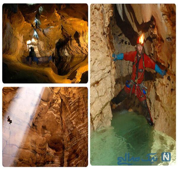 جاهای دیدنی غار پراو