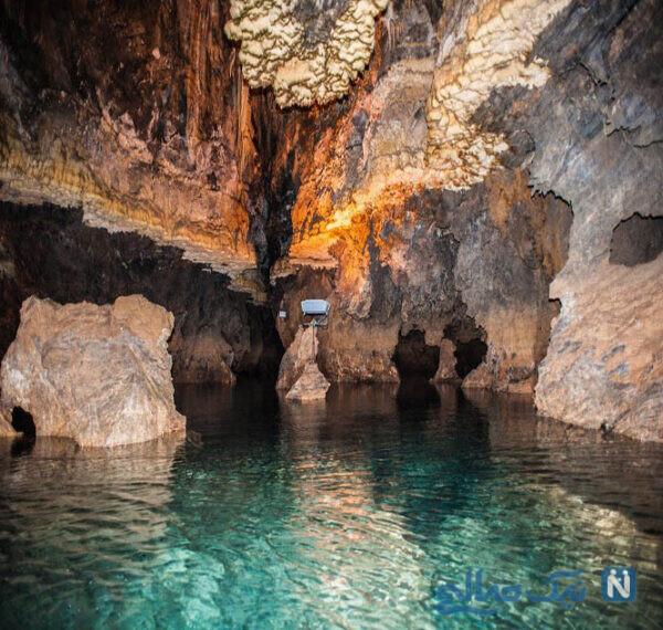 با جاهای دیدنی غار قوری قلعه یا قوری قلا کرمانشاه آشنا شوید