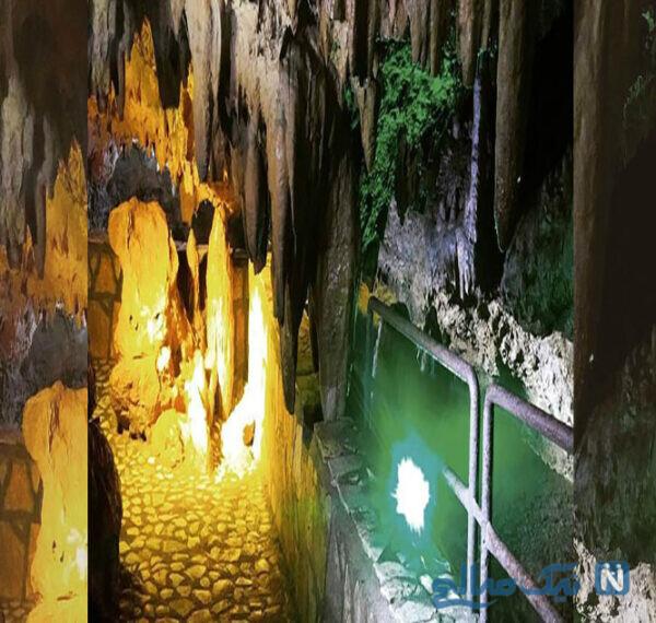 جاهای دیدنی غار قوری قلعه